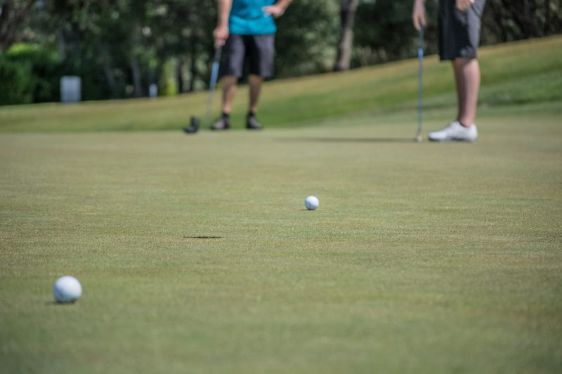 Family golf special at The Grove Golf Course